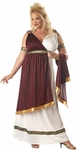 Woman's Plus Size Roman Empress Costume