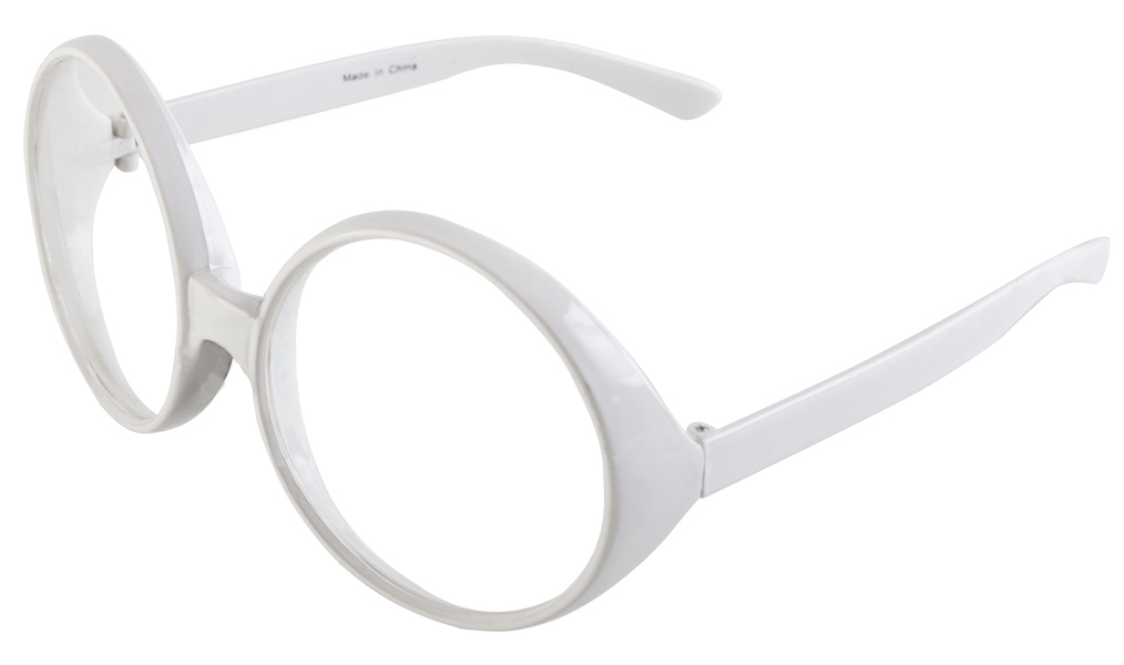 White Elton John Glasses