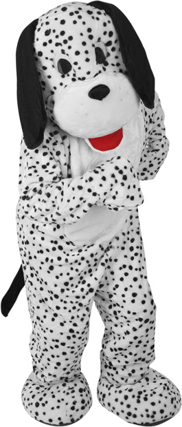 Adult Dalmation Dog Mascot Costume