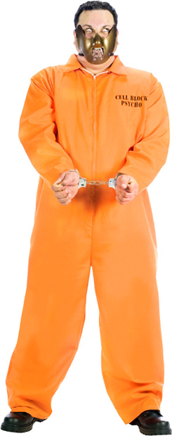 Plus Size Cell Block Psycho Costume