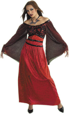 Adult Gothic Vampire Dress Costume