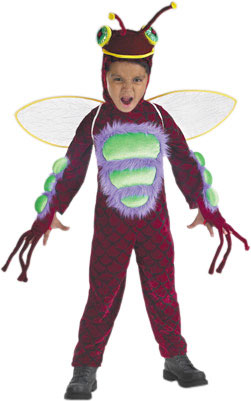 Child's Red Bug Costume