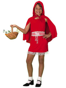 Child's Little Red Riding Hood Costume Dress