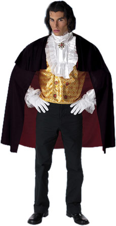 Adult Count Gothic Vampire Costume