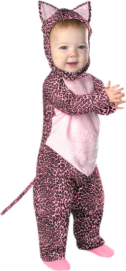Baby Pink Leopard Costume