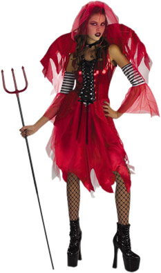 Adult Devil Fairy Costume