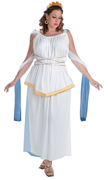 Adult Plus Size Athena Costume