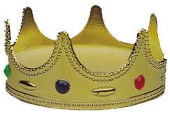 Child's Gold King Costume Crown