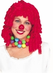 Curly Red Clown Wig