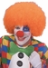 Adult Orange Clown Wig