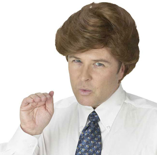 Donald Style Wig