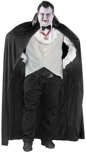 Plus Size Complete Dracula Costume