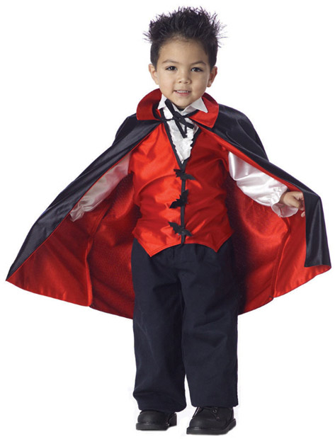Toddler Cute Vampire Costume