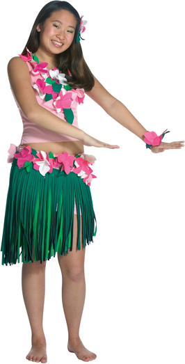 Teen Hula Girl Costume