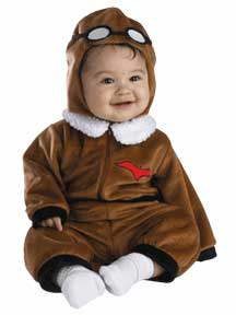 Baby Red Baron Pilot Costume