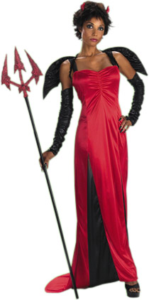 Women's Desirable Devil Costume