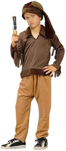Child's Daniel Boone Costume