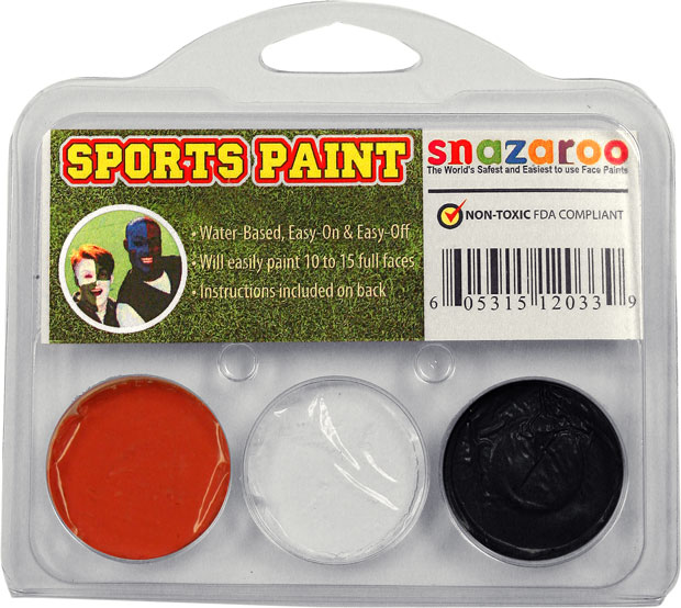 Face Paint Kit for Oklahoma State Cowboys Fans
