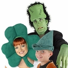 Unique Green Costume Hats