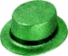 St. Pattys Day Glitter Top Hat