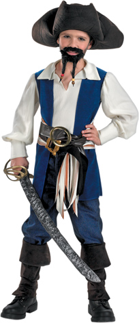 Child's Jack Sparrow Pirate Costume