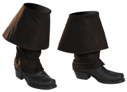 Child's Jack Sparrow Costume Boot Covers