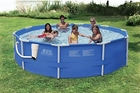 Summer Escapes 12 X 30 Above Ground Frame Pool Set