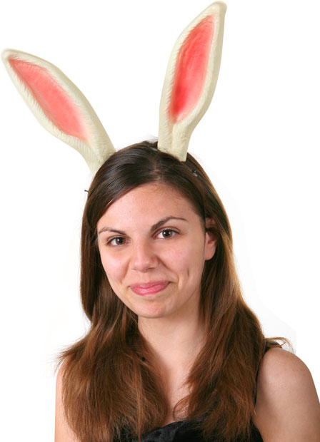 Adult Bunny Headband with Ears