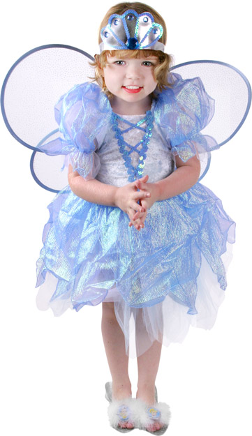 Toddler Blue Petal Princess Costume