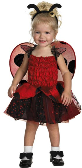 Toddler Adorable Ladybug Costume