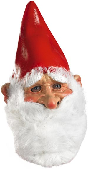 Adult Vinyl Gnome Mask