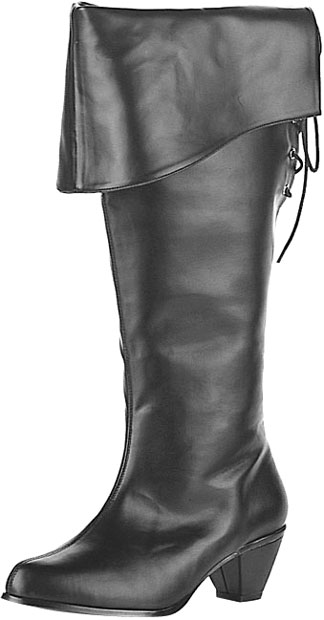 Women's Faux Leather Pirate Boots