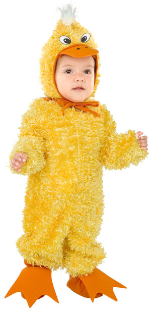 Toddler Plump Little Duck Costume