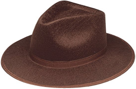 Brown Raider Hat