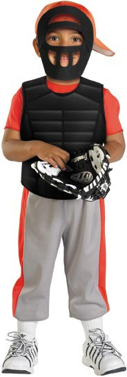 Toddler Baseball Catcher Costume