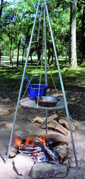 Tripod Camping Cooking Grill