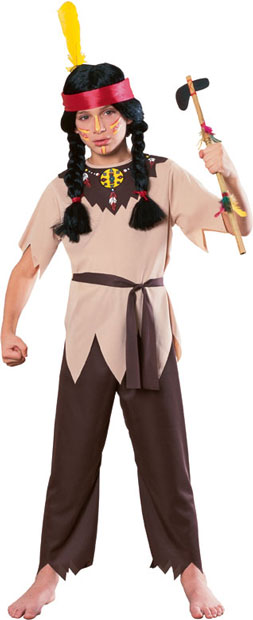 Child's Native American Warrior Costume