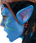 Avatar Blue Costume Ears