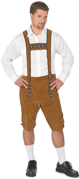 Men's German Lederhosen Costume