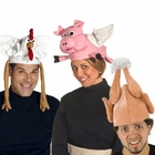 Adult Farm Animal Hats