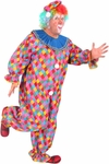 Adult Carnival Clown Costume