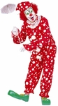 Adult Polka Dots Clown Costume