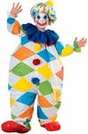 Child's Inflatable Clown Costume
