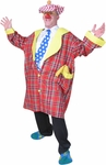 Plus Size Buttons The Clown Costume