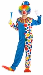 Teen Unisex Clown Costume