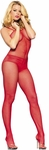 Sleeveless Fishnet Body Stocking