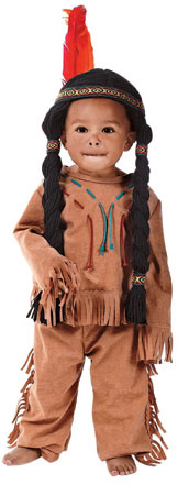 Toddler Indian Boy Costume