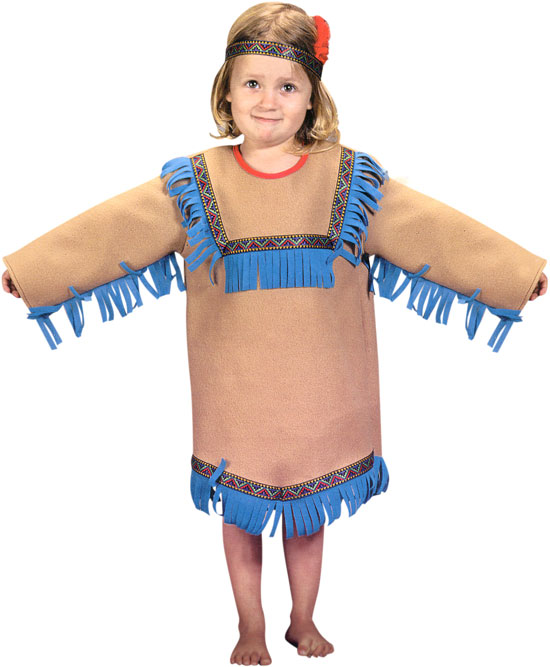 Toddler Native Indian Girl Costume