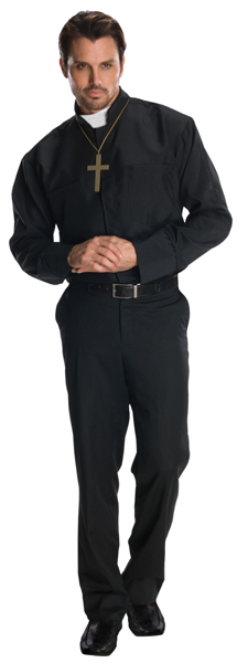 Adult Basic Priest Costume