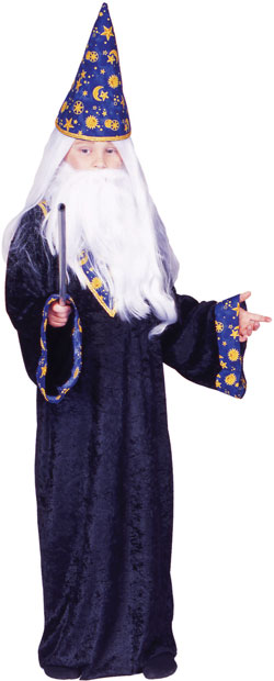 Child's Black Magic Wizard Costume
